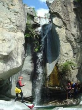 Viamalaschlucht Canyoning in Thusis