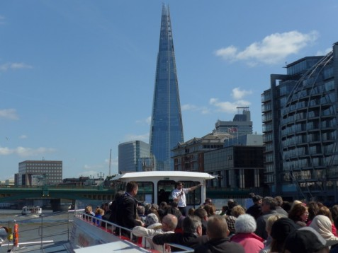 The Shard und Themsefahrt in London - Tagesticket