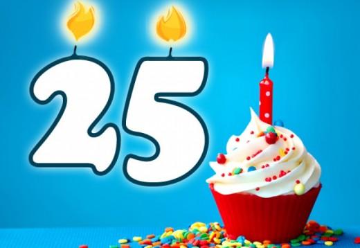 Spruche Zum 25 Geburtstag